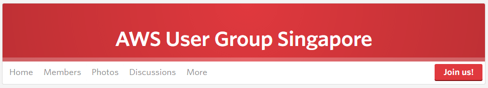 AWS User Group Singapore